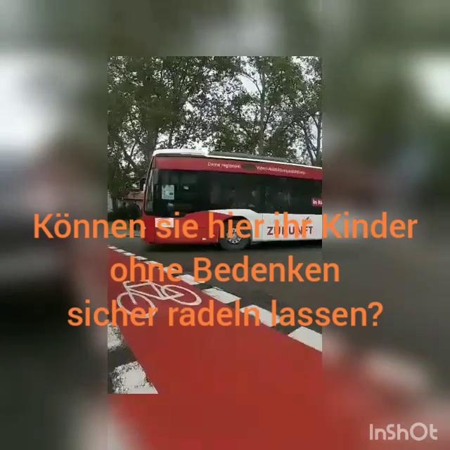 Video – RT Ringelbachstr – Können Schüler hier sicher radeln?