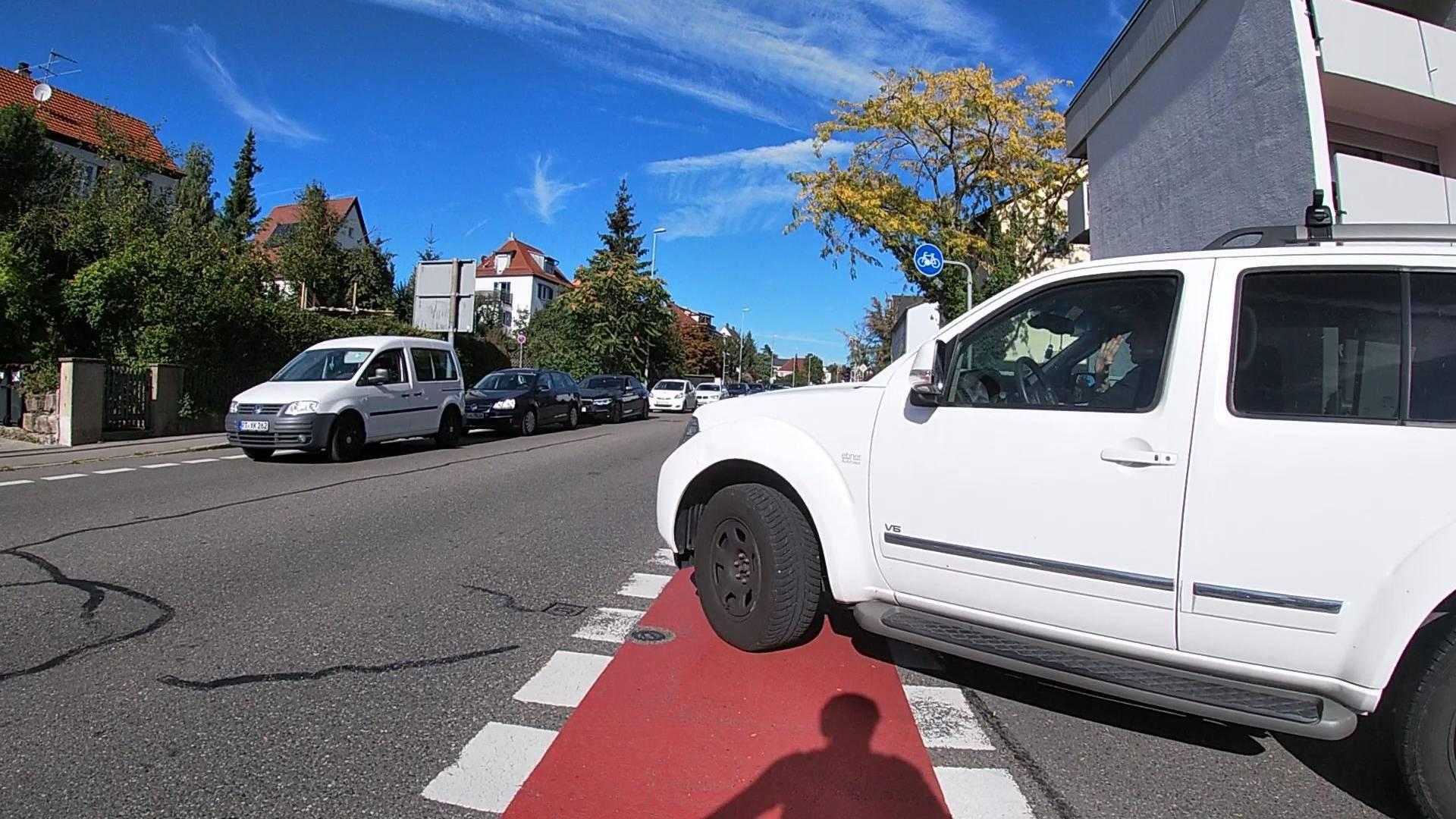 Video – RT Alteburgstraße – warum Radfahrstreifen gefährlich sind