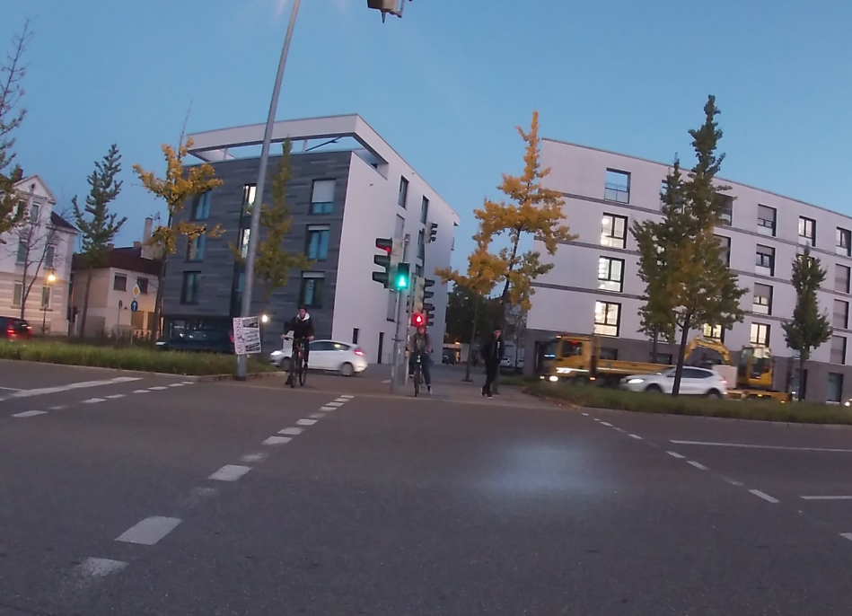 Video RT Eberhardstraße Querung
