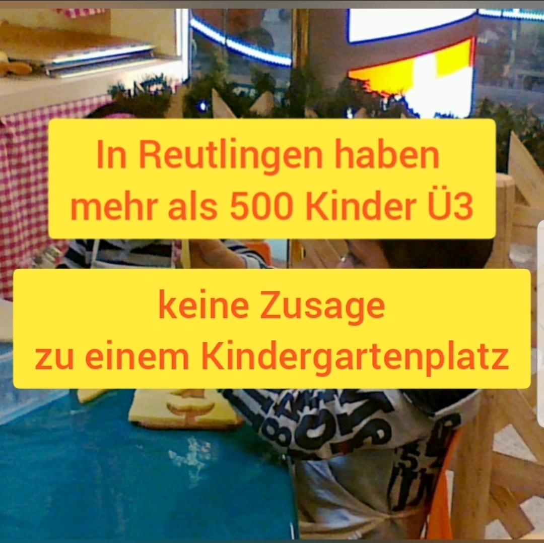 Mehr als 500 Kinder Ü3 ohne Kindergartenplatz